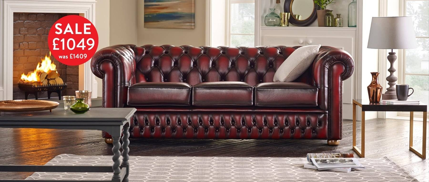 Bespoke Chesterfield Furniture Handmade In Britain | Sofassaxon regarding Chesterfield Furniture (Image 3 of 30)