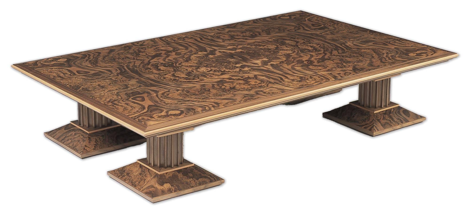 Bespoke Coffee Table In Walnut | Makers' Eye throughout Bespoke Coffee Tables (Image 5 of 30)