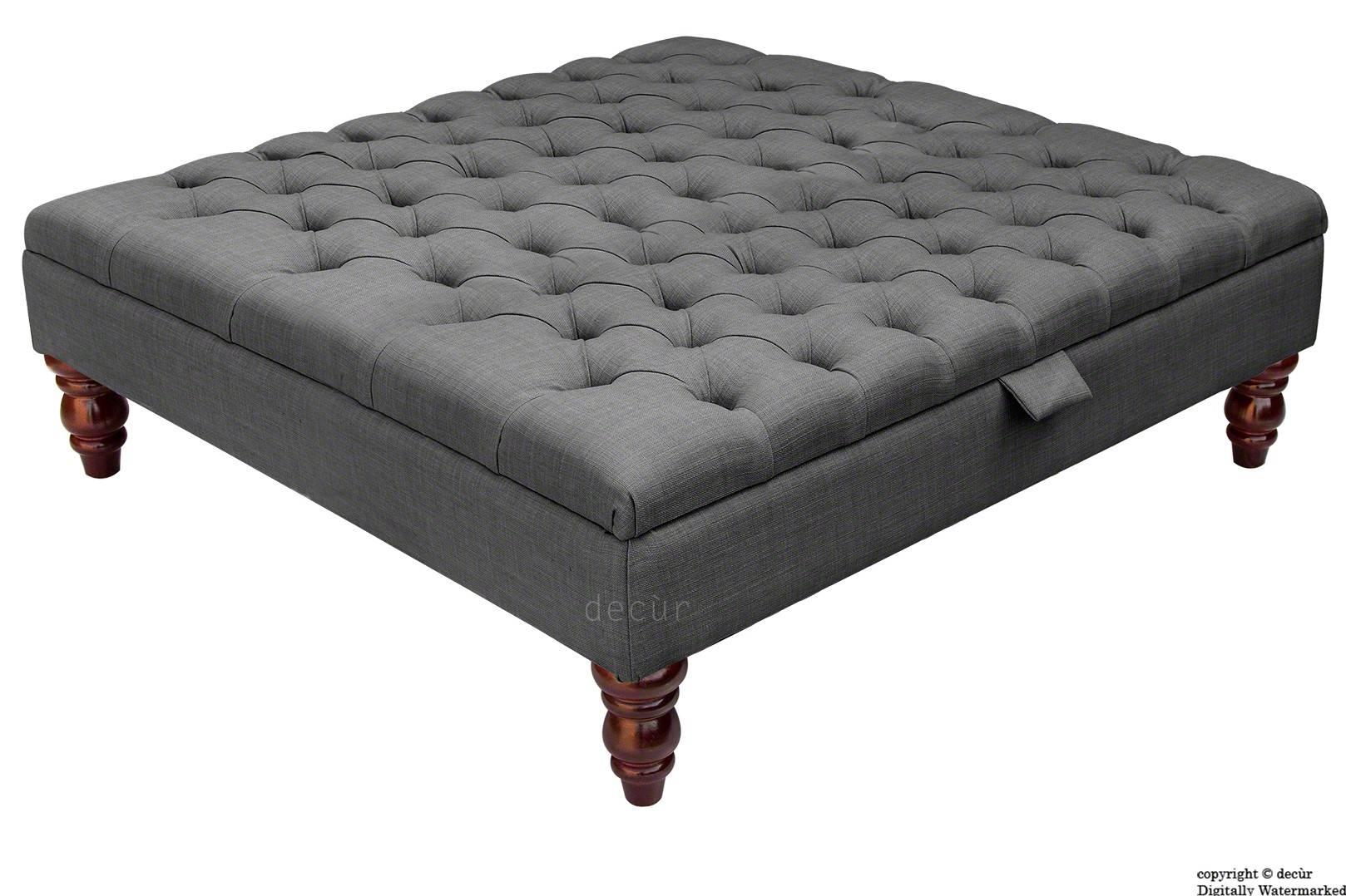 Bespoke Designer Sofas, Footstools, Bespoke Footstools, Bespoke with Large Footstools (Image 10 of 30)