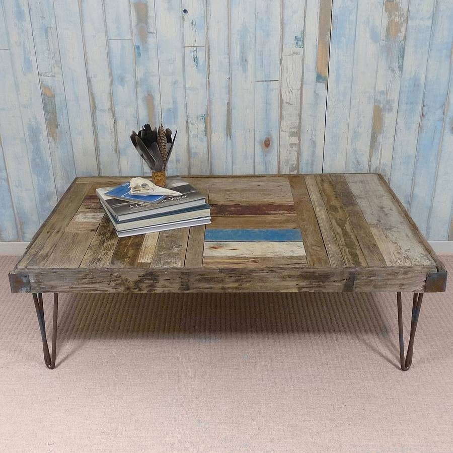 Bespoke Driftwood Coffee Tablenautilus Driftwood Design intended for Bespoke Coffee Tables (Image 7 of 30)