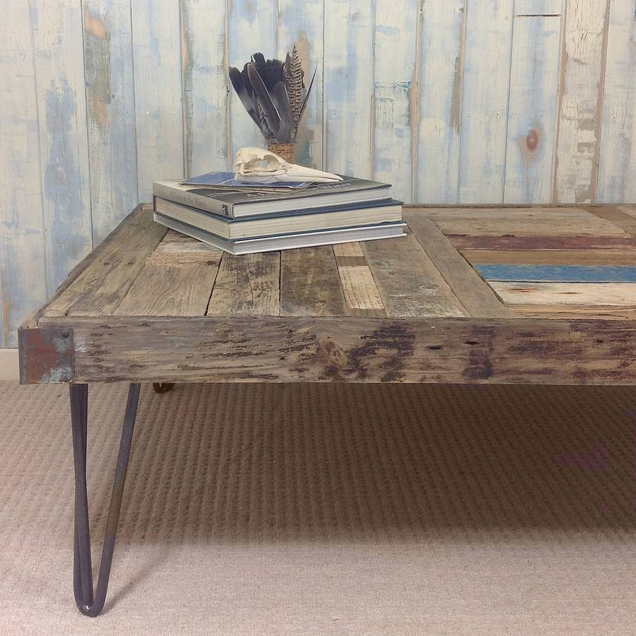 Bespoke Driftwood Coffee Tablenautilus Driftwood Design pertaining to Bespoke Coffee Tables (Image 8 of 30)