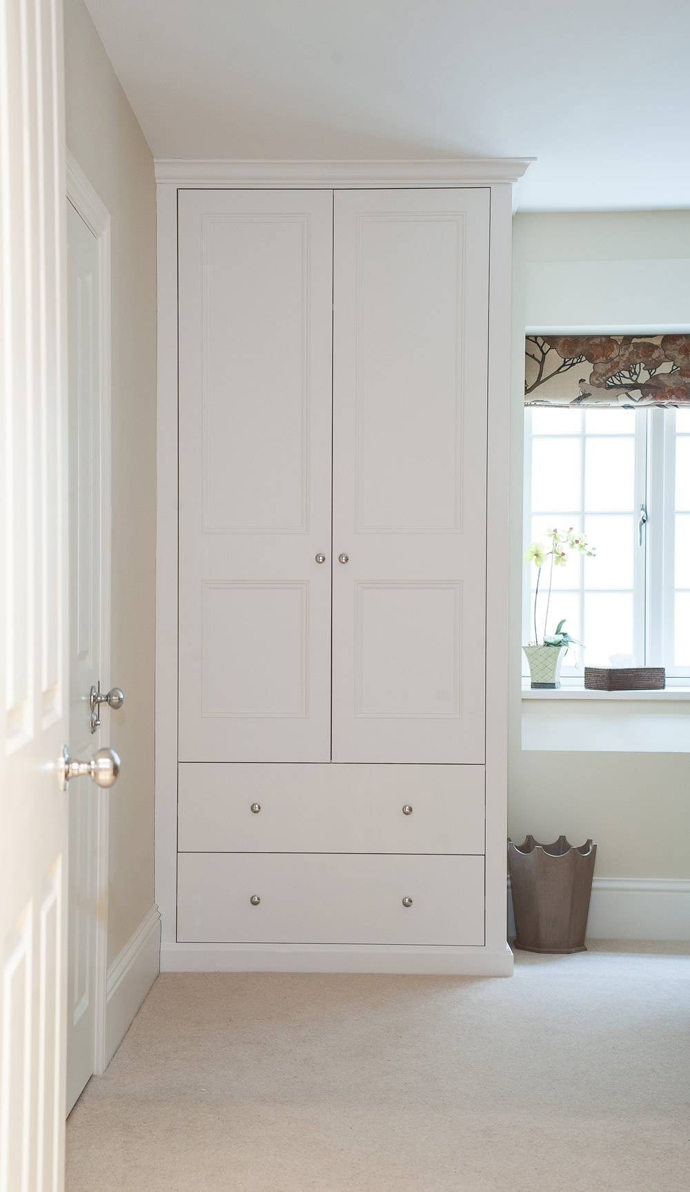 Bespoke Fitted Wardrobes And Cupboards | London Alcove Company In Drawers For Fitted Wardrobes (View 6 of 30)