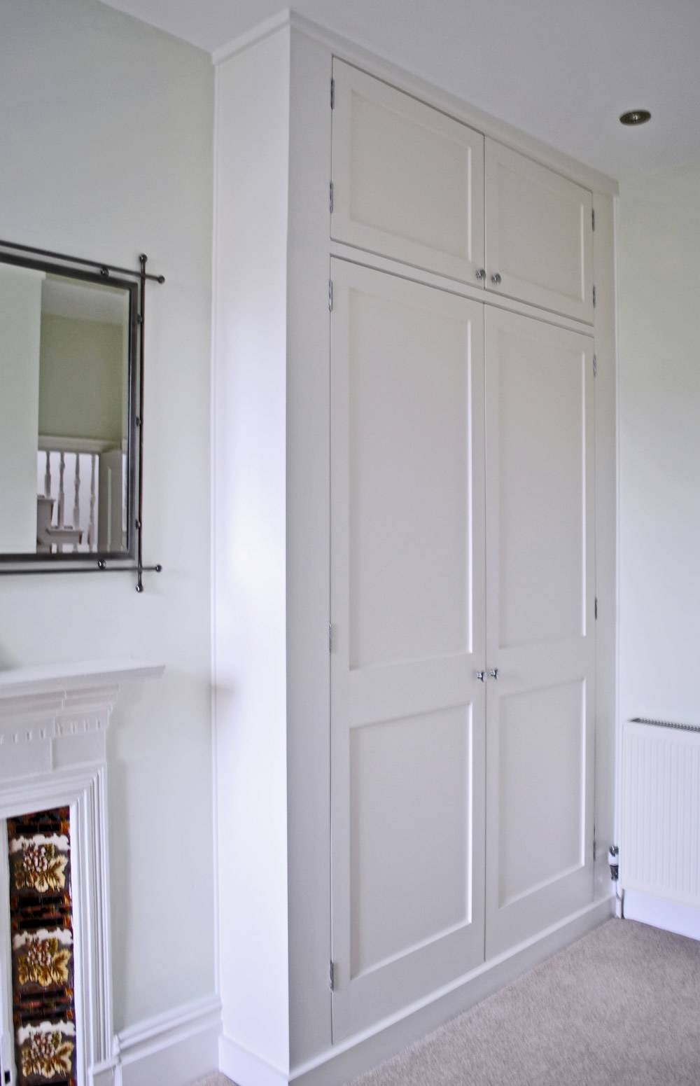 Bespoke Fitted Wardrobes And Cupboards | London Alcove Company with Wall Wardrobes (Image 7 of 30)