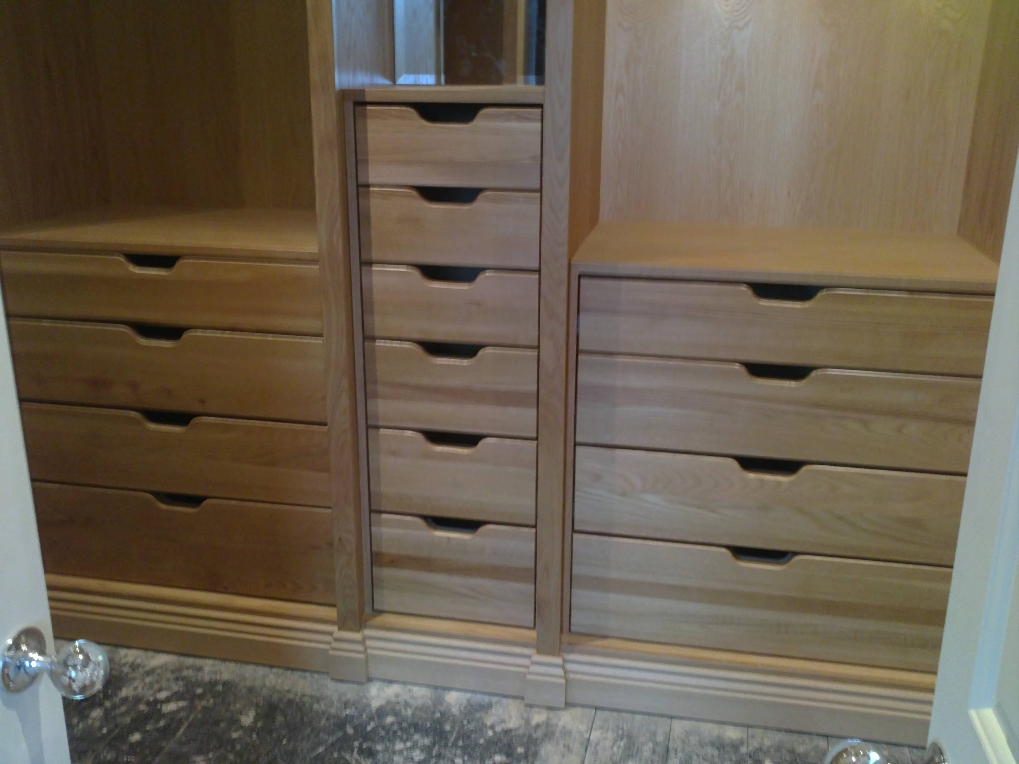 Bespoke Furniture | Joiner Southport in Solid Wood Built in Wardrobes (Image 16 of 30)