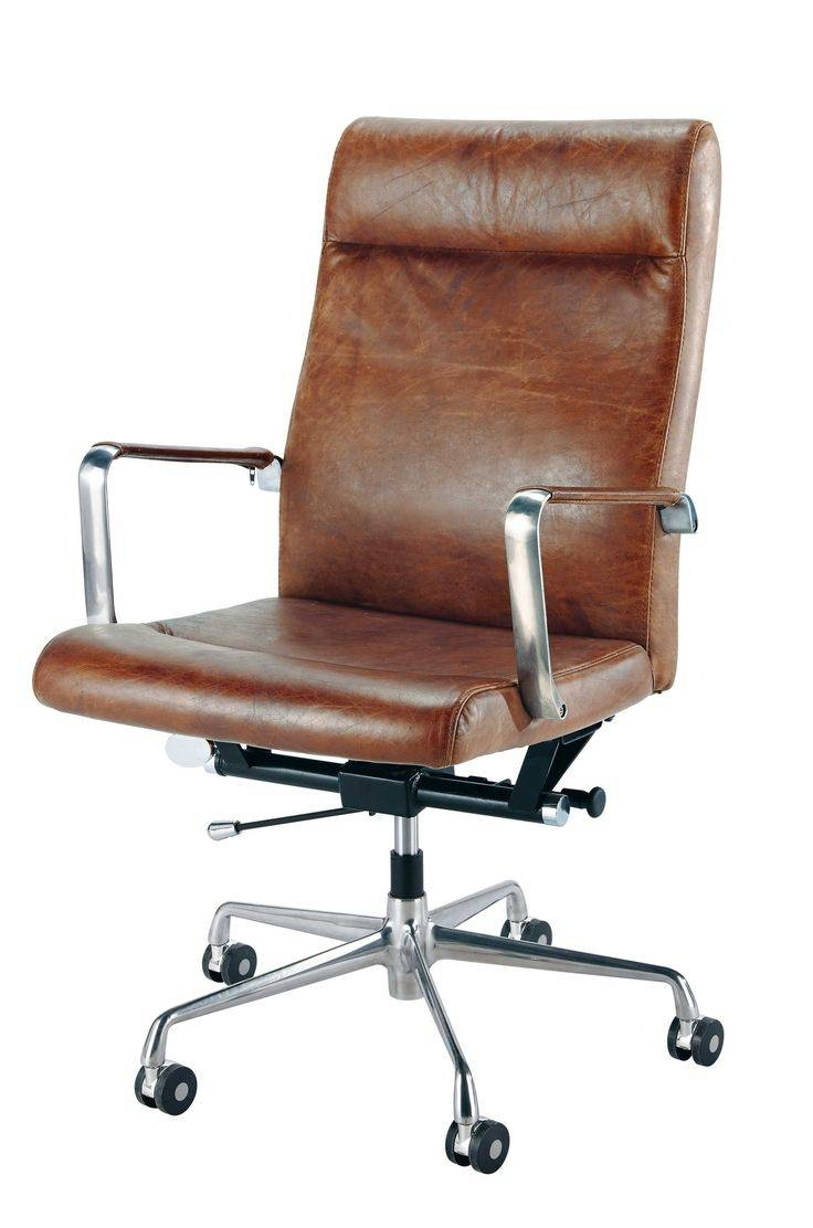 Best 10+ Brown Leather Office Chair Ideas On Pinterest | Brown for Office Sofa Chairs (Image 4 of 30)