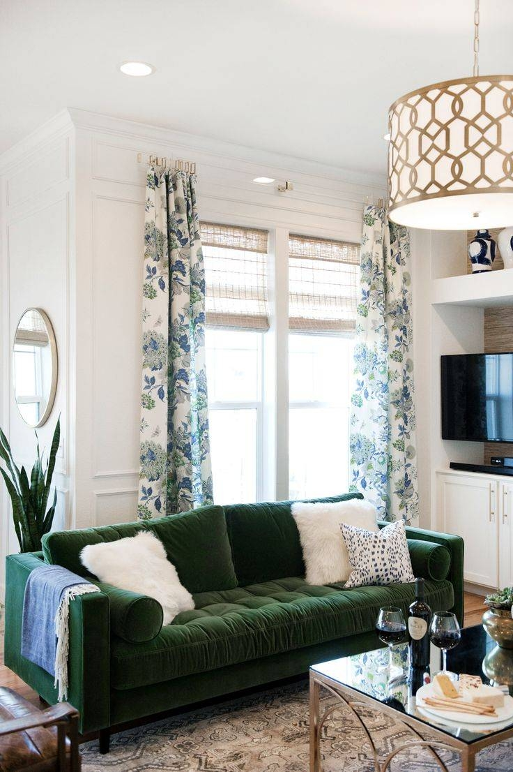 Best 10+ Green Couch Decor Ideas On Pinterest | Green Sofa, Velvet inside Green Sofa Chairs (Image 4 of 30)
