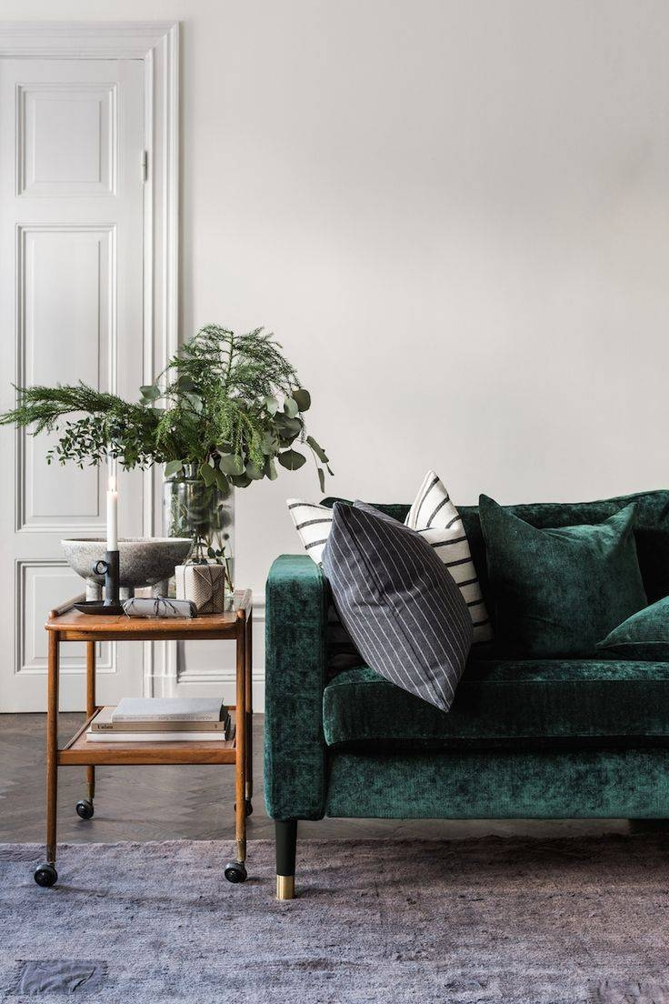 Best 10+ Green Couch Decor Ideas On Pinterest | Green Sofa, Velvet with regard to Green Sofa Chairs (Image 5 of 30)