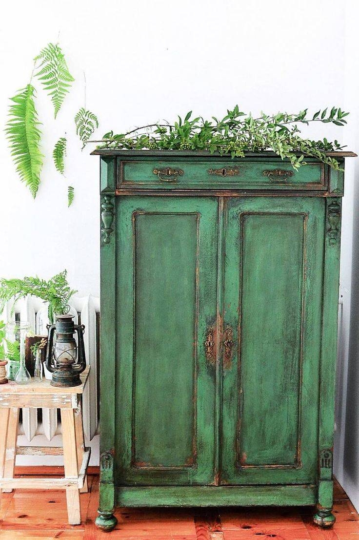 Best 10+ Green Distressed Furniture Ideas On Pinterest inside Distressed Wood Sideboards (Image 4 of 30)