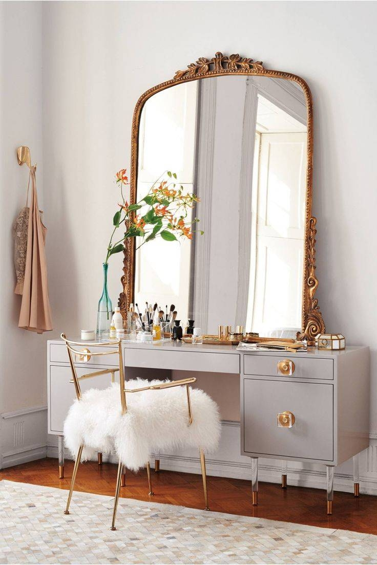 Popular Photo of Big Vintage Mirrors
