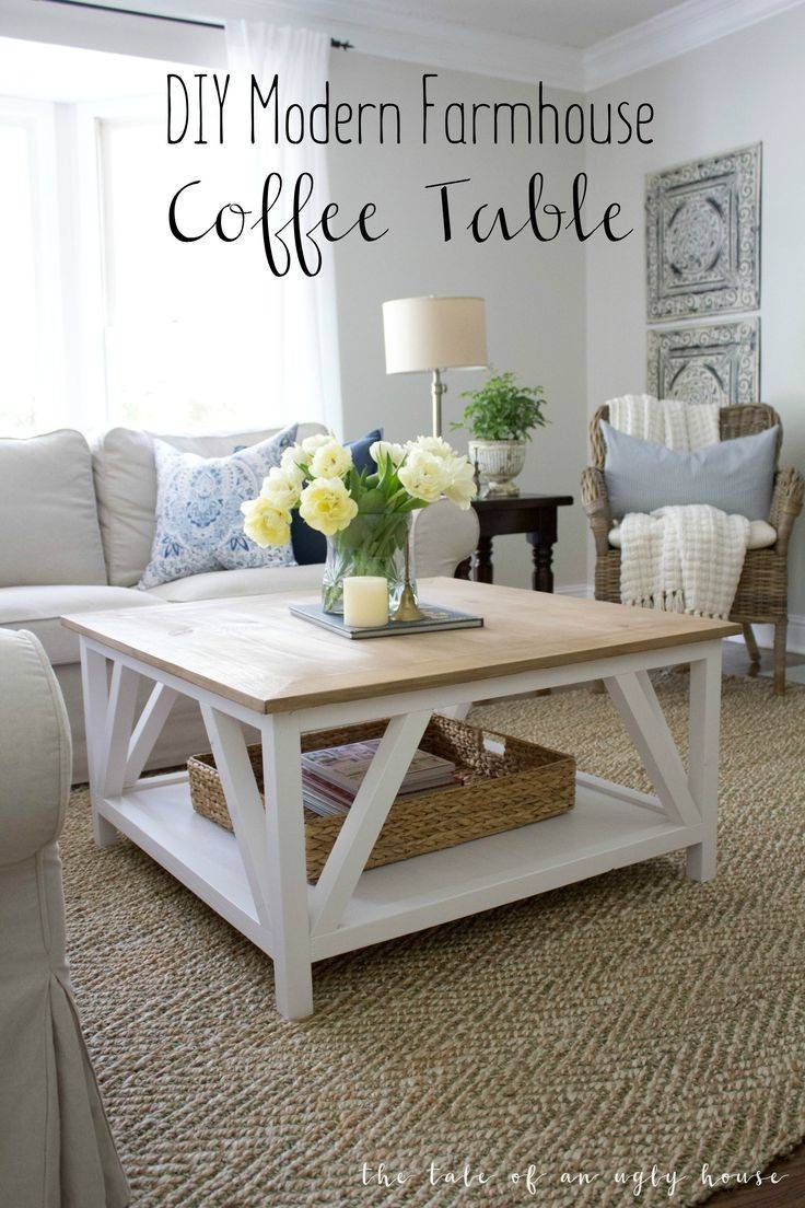 Best 10+ Painted Coffee Tables Ideas On Pinterest | Farm Style With Cream Coffee Tables With Drawers (View 2 of 25)