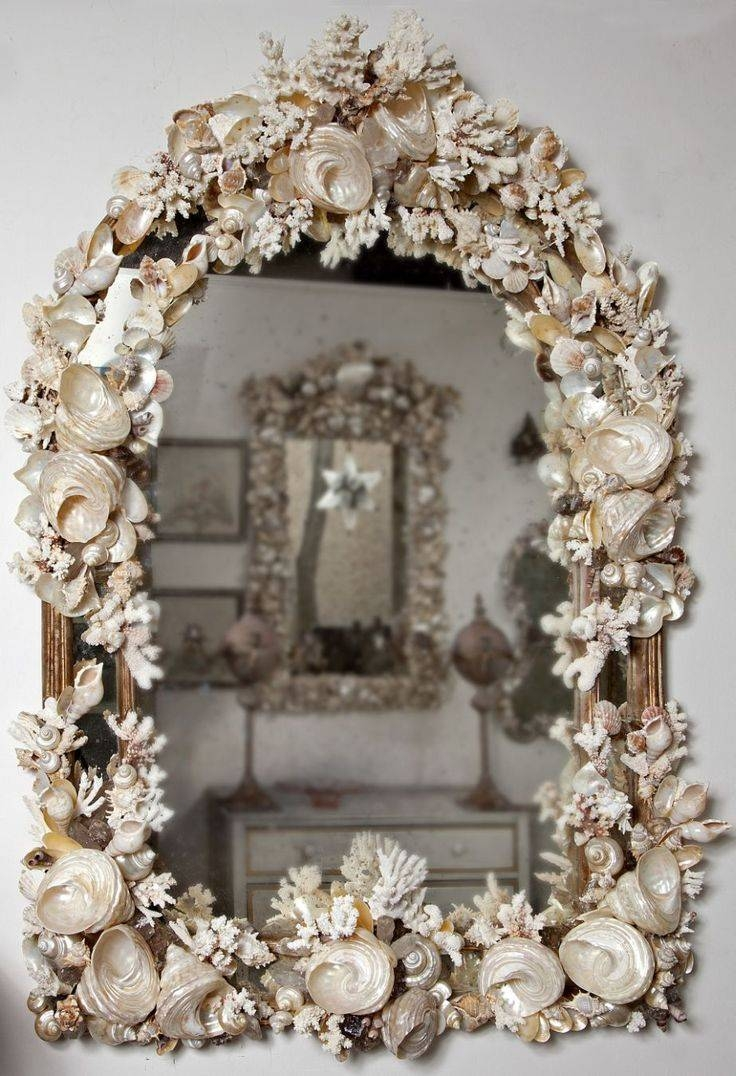 Best 10+ Sea Shell Mirrors Ideas On Pinterest | Seashell Frame within Ornamental Mirrors (Image 7 of 25)