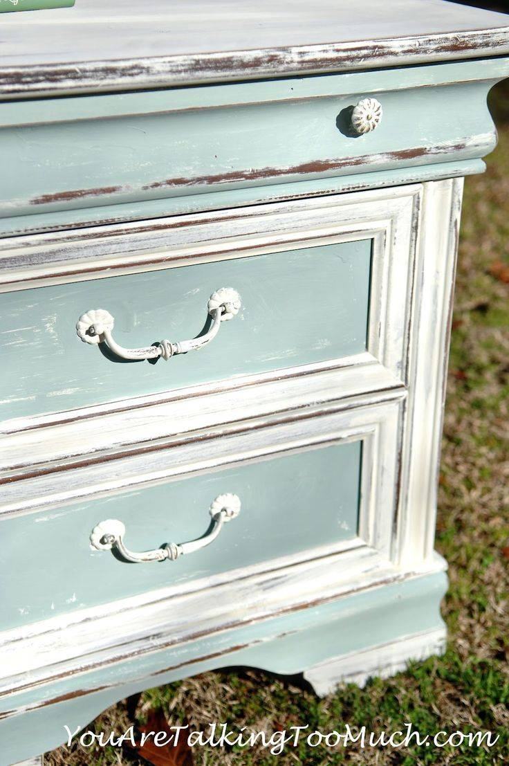 Best 10+ White Distressed Furniture Ideas On Pinterest | Chalk throughout White Distressed Finish Sideboards (Image 7 of 30)