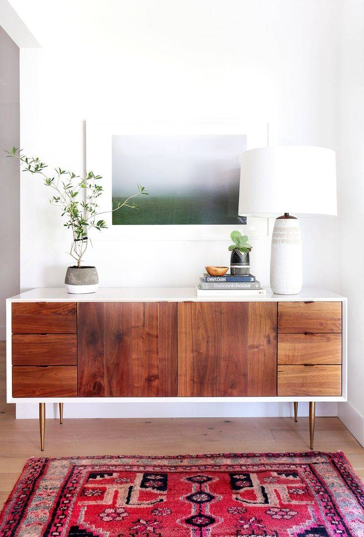 Best 10+ White Sideboard Ideas On Pinterest | Living Room Plants within White And Wood Sideboards (Image 2 of 30)