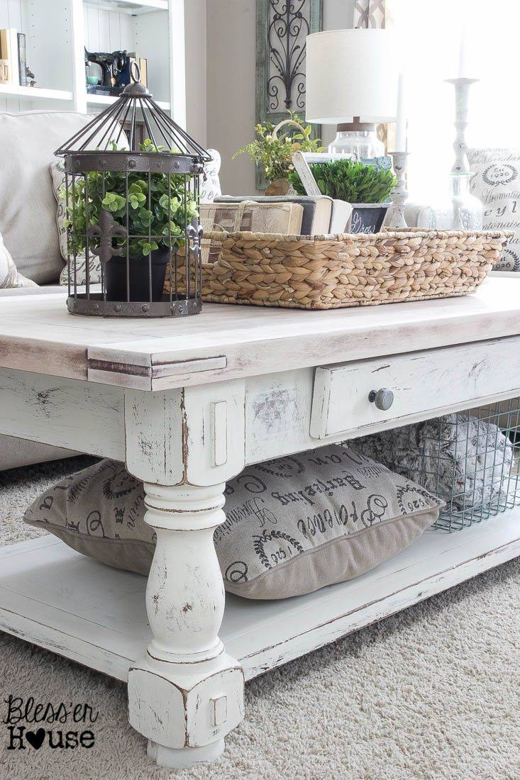 Best 20+ Coffee Table Makeover Ideas On Pinterest | Ottoman Ideas in Retro White Coffee Tables (Image 4 of 30)