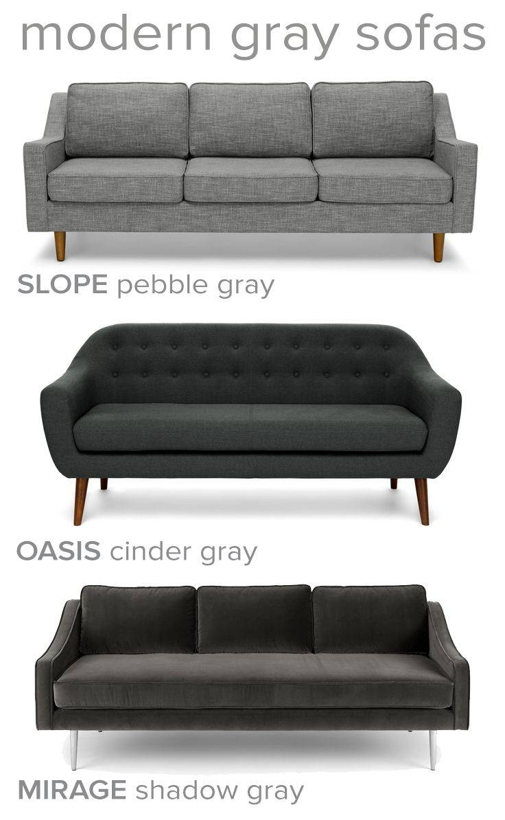 Best 20+ Dark Gray Sofa Ideas On Pinterest | Gray Couch Decor with Charcoal Grey Sofas (Image 2 of 30)