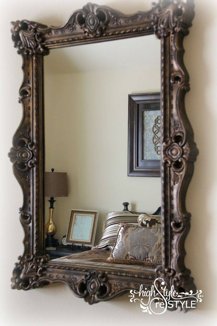 Best 20+ Decorating A Mirror Ideas On Pinterest | Framing A Mirror throughout Old Style Mirrors (Image 8 of 25)