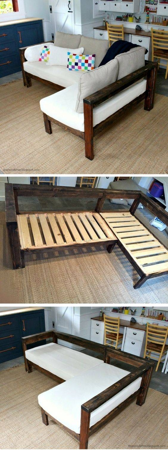 Best 20+ Diy Sofa Ideas On Pinterest | Diy Couch, Rustic Sofa And throughout Diy Sofa Frame (Image 7 of 30)