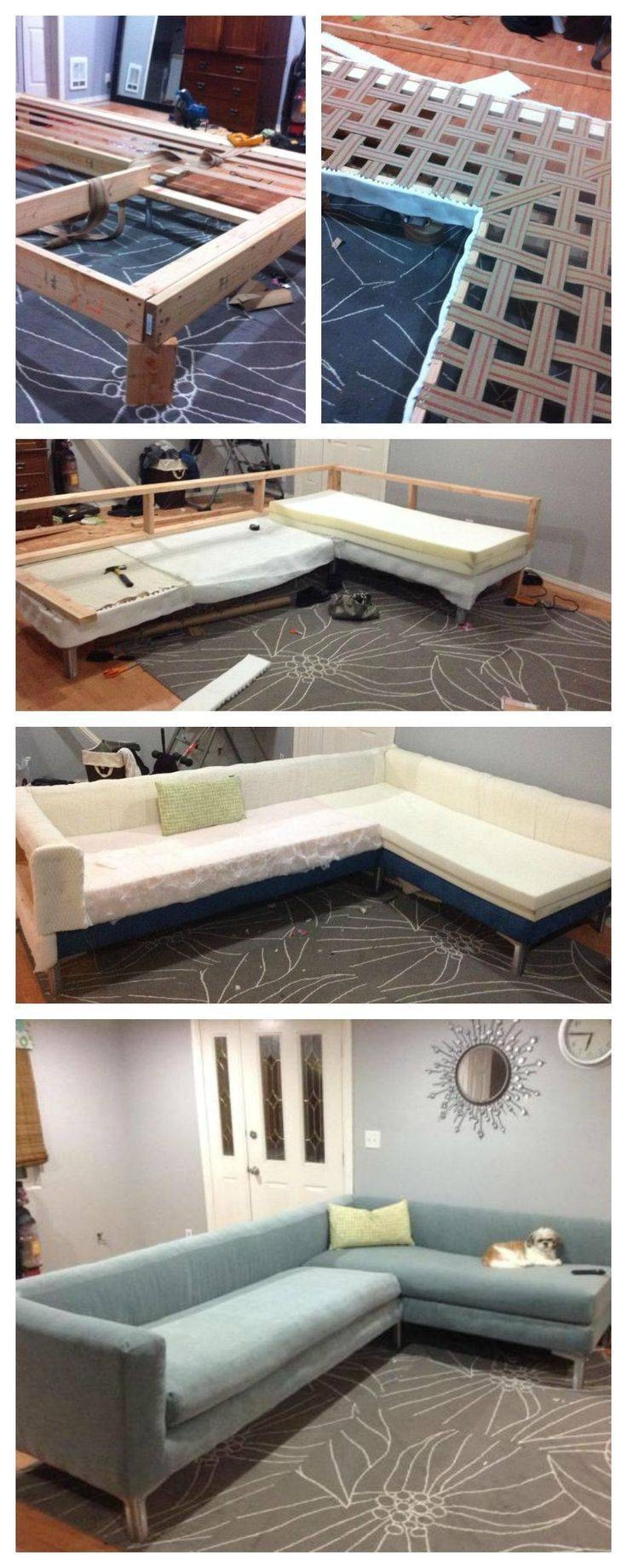 Best 20+ Diy Sofa Ideas On Pinterest | Diy Couch, Rustic Sofa And with regard to Diy Sofa Frame (Image 8 of 30)