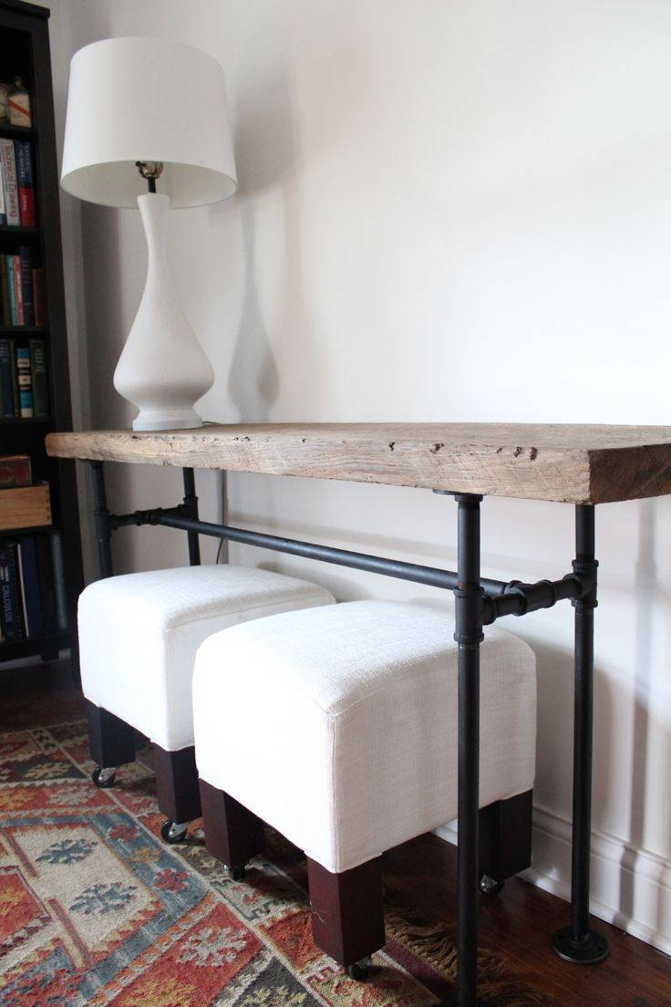 Best 20+ Diy Sofa Table Ideas On Pinterest | Diy Living Room, Diy with regard to Low Sofa Tables (Image 3 of 30)