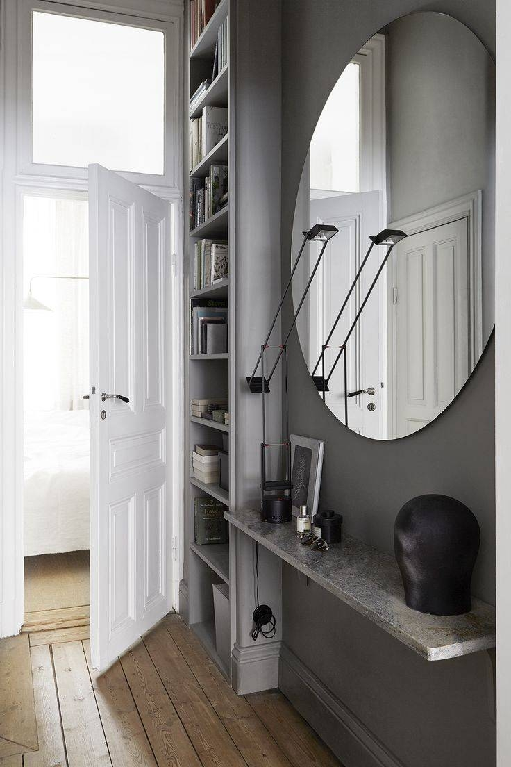 Best 20+ Large Round Mirror Ideas On Pinterest | Large Hallway regarding Large Circle Mirrors (Image 7 of 25)