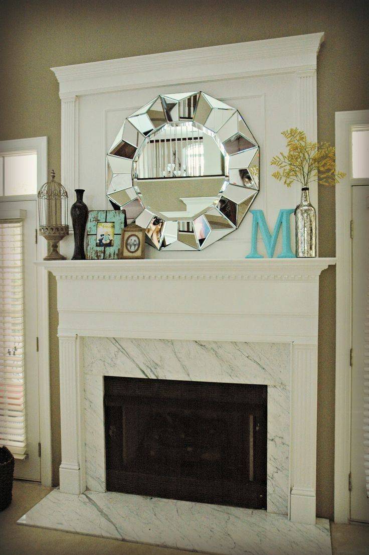 Best 20+ Mantel Decor Everyday Ideas On Pinterest | Fireplace within Mirrors for Mantle (Image 4 of 25)