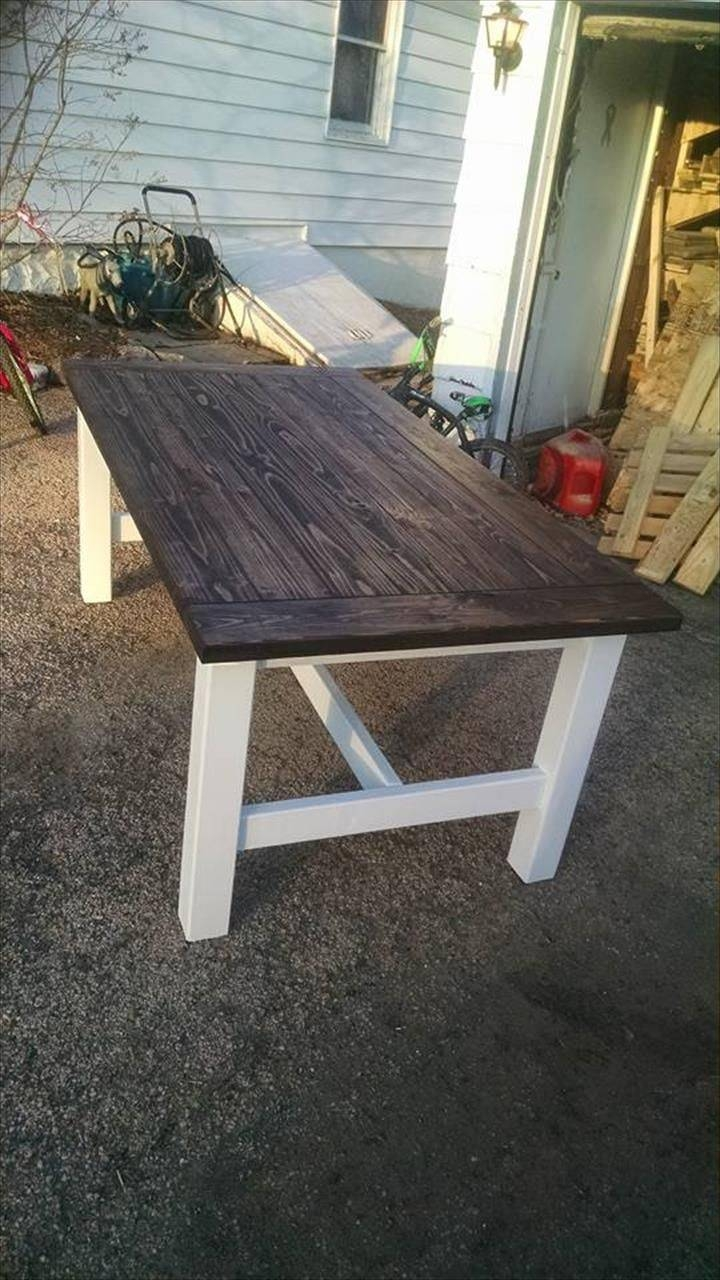 Best 20+ Pallet Coffee Tables Ideas On Pinterest   Paint Wood within Rustic Style Coffee Tables (Image 3 of 30)