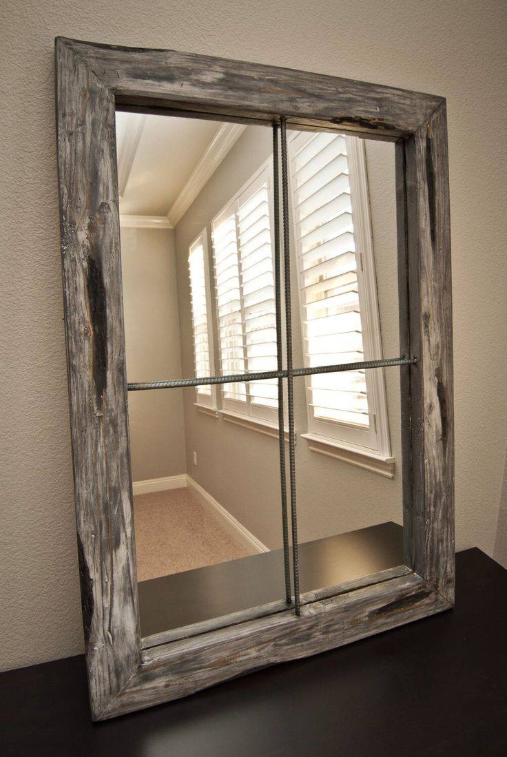 Best 20+ Rustic Mirrors Ideas On Pinterest | Farm Mirrors with regard to Huge Mirrors For Cheap (Image 3 of 25)
