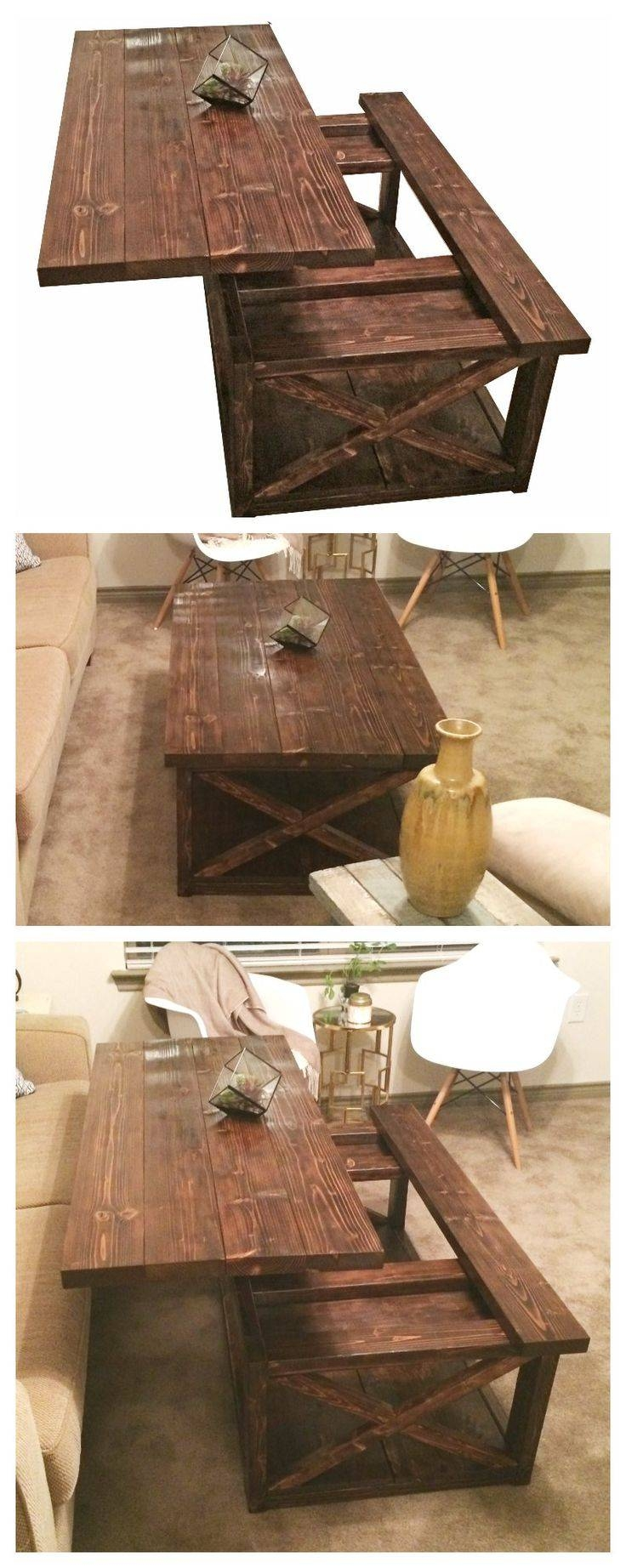 Best 20+ Rustic Wood Coffee Table Ideas On Pinterest | Rustic inside Rustic Wood Diy Coffee Tables (Image 5 of 30)