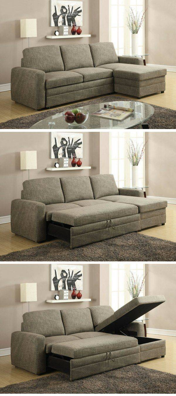 Best 20+ Small Sectional Sleeper Sofa Ideas On Pinterest intended for Mini Sofa Sleepers (Image 2 of 30)