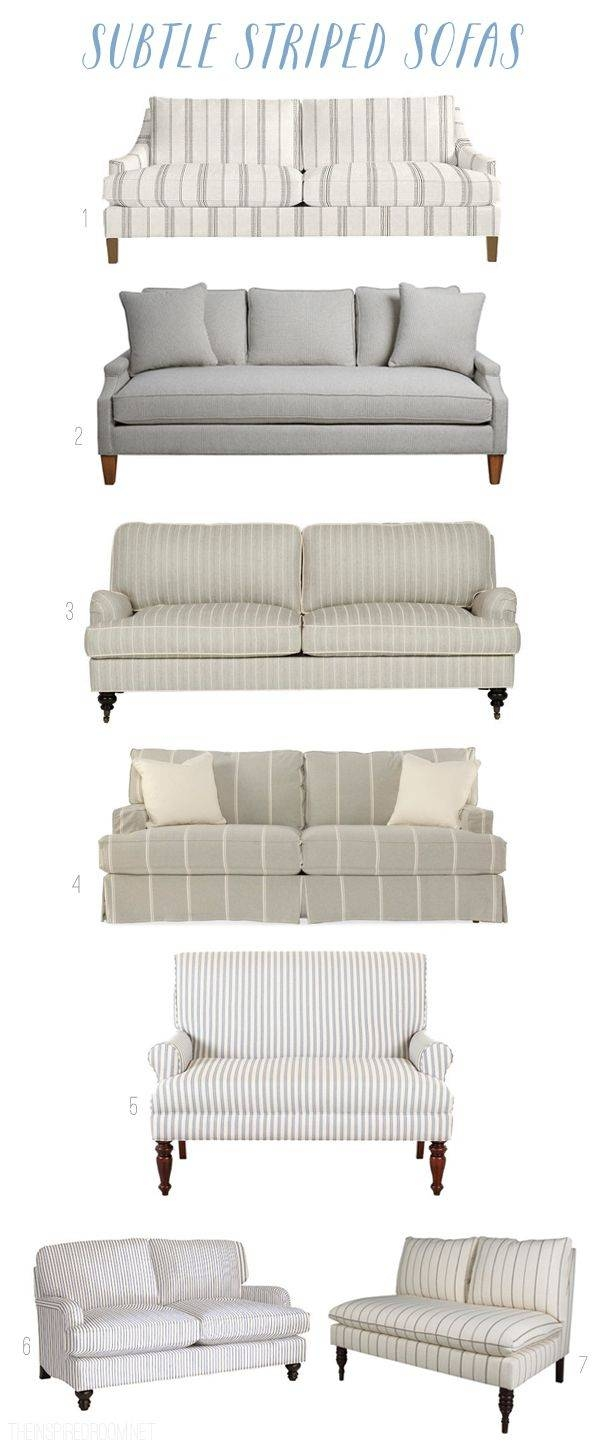 Best 20+ Striped Couch Ideas On Pinterest | Farmhouse Seat in Chintz Sofas And Chairs (Image 12 of 25)