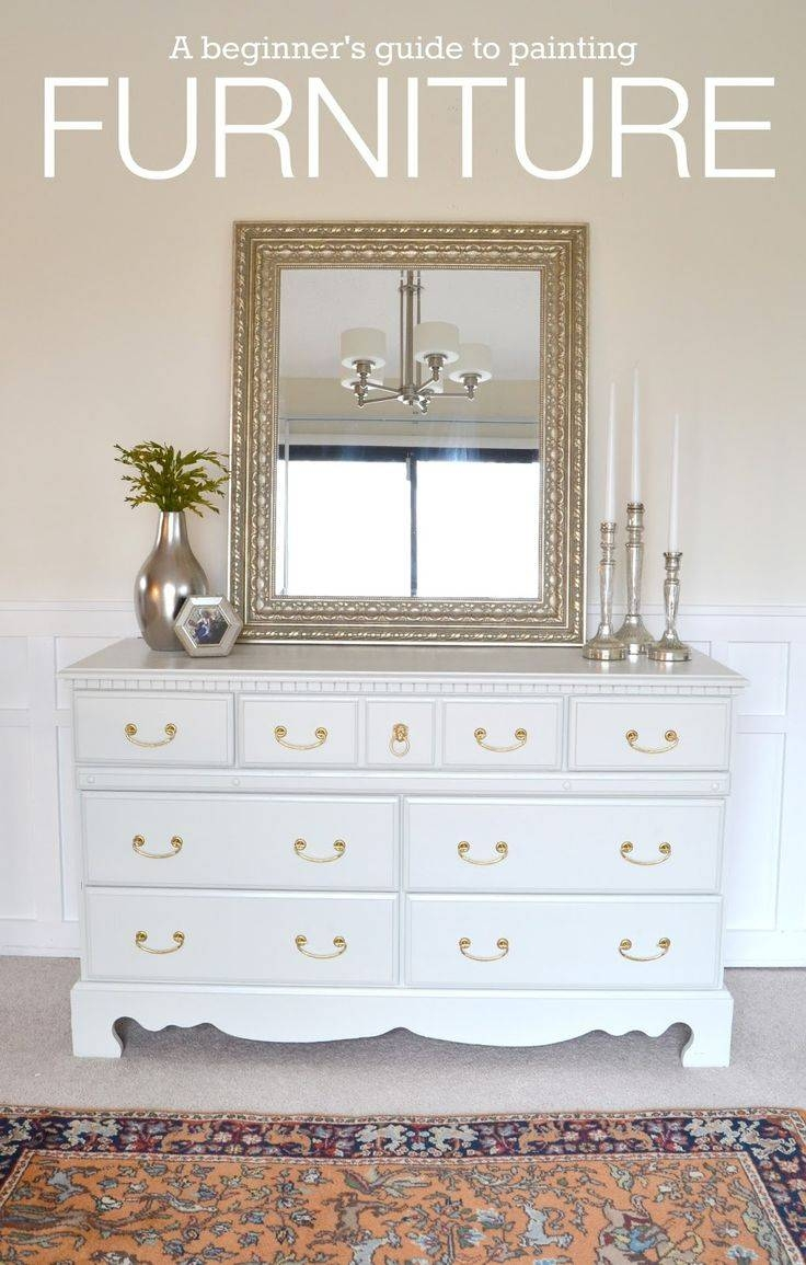 Best 20+ White Painted Dressers Ideas On Pinterest | Chalk Paint regarding White Painted Wardrobes (Image 1 of 15)
