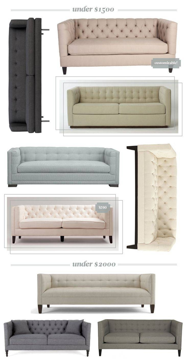 Best 25+ Affordable Sofas Ideas On Pinterest inside Affordable Tufted Sofa (Image 4 of 30)