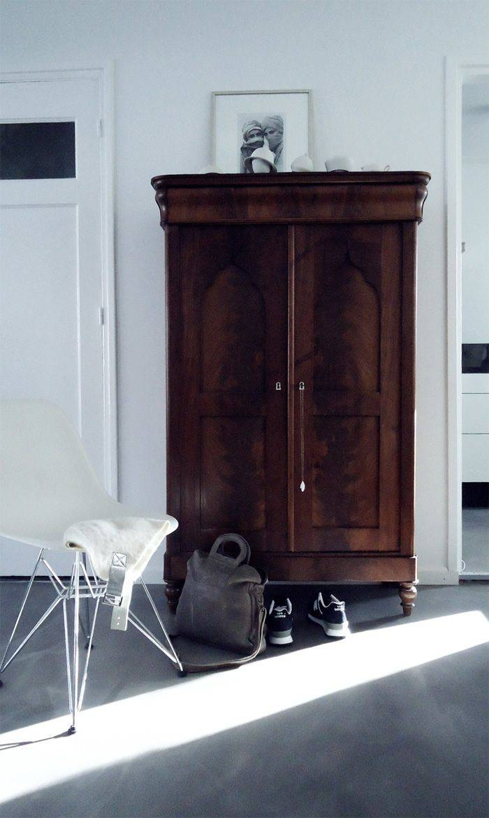 Best 25+ Antique Wardrobe Ideas On Pinterest | Vintage Wardrobe for Dark Wood Wardrobes Armoires (Image 10 of 30)