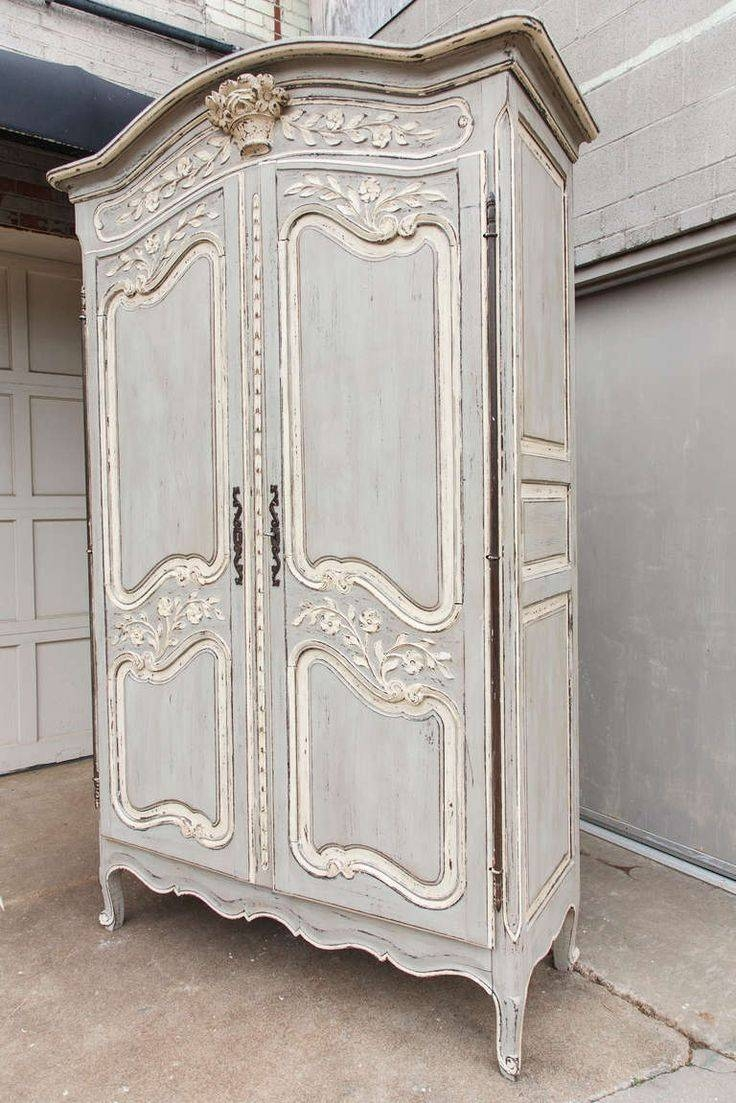 Best 25+ Antique Wardrobe Ideas On Pinterest | Vintage Wardrobe regarding White Antique Wardrobes (Image 3 of 15)