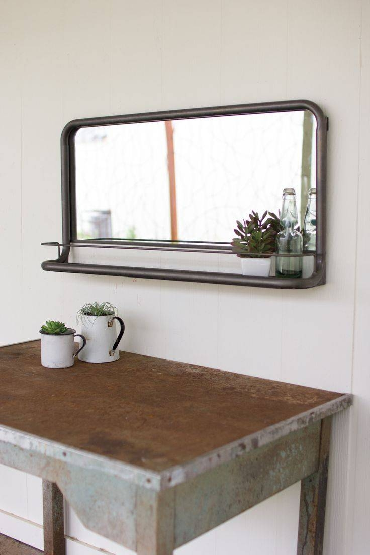 Best 25+ Bathroom Mirror With Shelf Ideas On Pinterest | Framing for Vintage Style Bathroom Mirrors (Image 8 of 25)