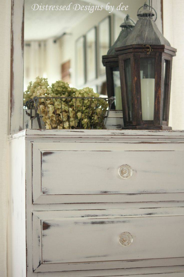 Best 25+ Blue Distressed Furniture Ideas On Pinterest | Layer in White Distressed Finish Sideboards (Image 8 of 30)