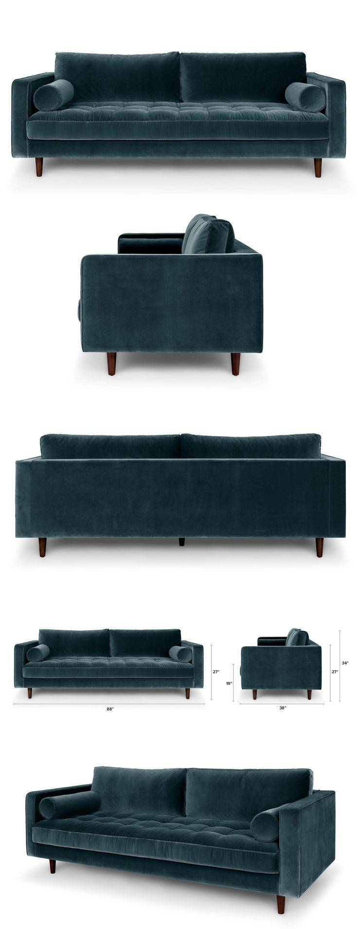 Best 25+ Blue Sofas Ideas On Pinterest | Sofa, Navy Blue Couches inside Very Large Sofas (Image 7 of 30)