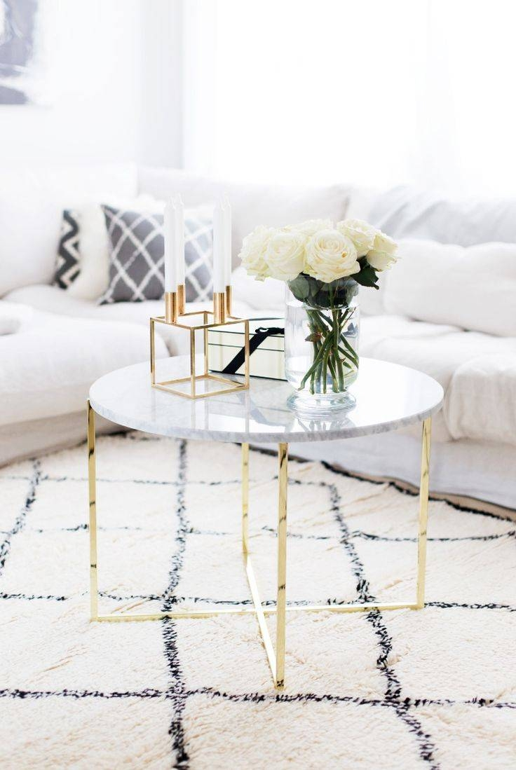 Best 25+ Brass Coffee Table Ideas Only On Pinterest | Glass Coffee Within Small Marble Coffee Tables (View 1 of 30)