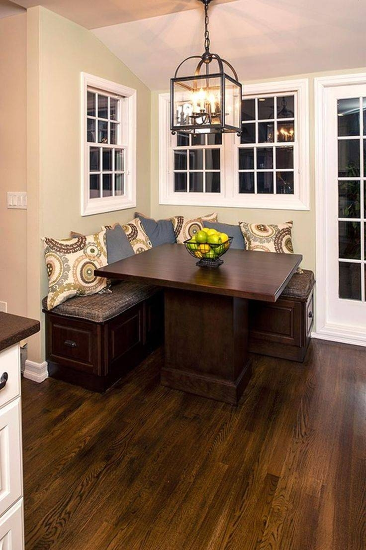 Best 25+ Breakfast Nook Table Ideas On Pinterest | New Kitchen Diy within Corner Seating Ideas (Image 8 of 30)