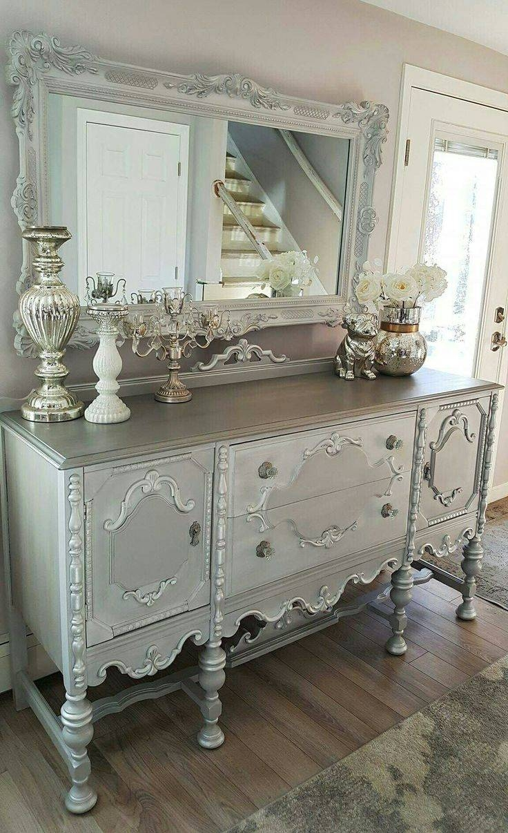 Best 25+ Chalk Paint Mirror Ideas On Pinterest | Painted Frames pertaining to Grey Vintage Mirrors (Image 6 of 25)