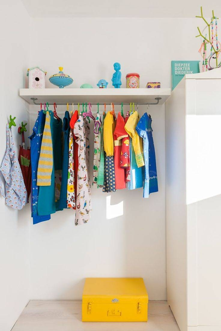 Best 25+ Childrens Clothes Rail Ideas On Pinterest | Ikea For Childrens Double Rail Wardrobes (View 7 of 30)