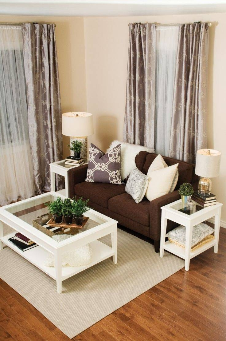 Best 25+ Chocolate Brown Couch Ideas That You Will Like On within Cream Colored Sofa (Image 2 of 25)