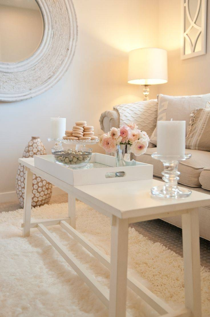 Best 25+ Coffee Table Centerpieces Ideas On Pinterest | Coffee with regard to French White Coffee Tables (Image 5 of 30)