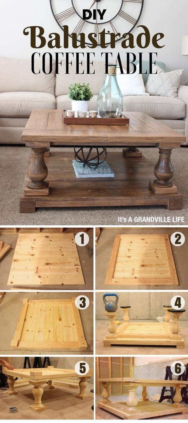 Best 25+ Coffee Tables Ideas Only On Pinterest | Diy Coffee Table with Rustic Coffee Tables With Bottom Shelf (Image 14 of 30)