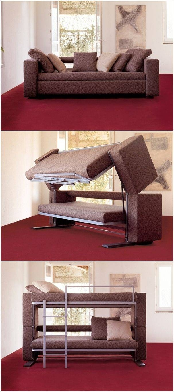 Best 25+ Couch Bunk Beds Ideas On Pinterest | Bunk Bed With Desk with regard to Sofa Bunk Beds (Image 2 of 30)
