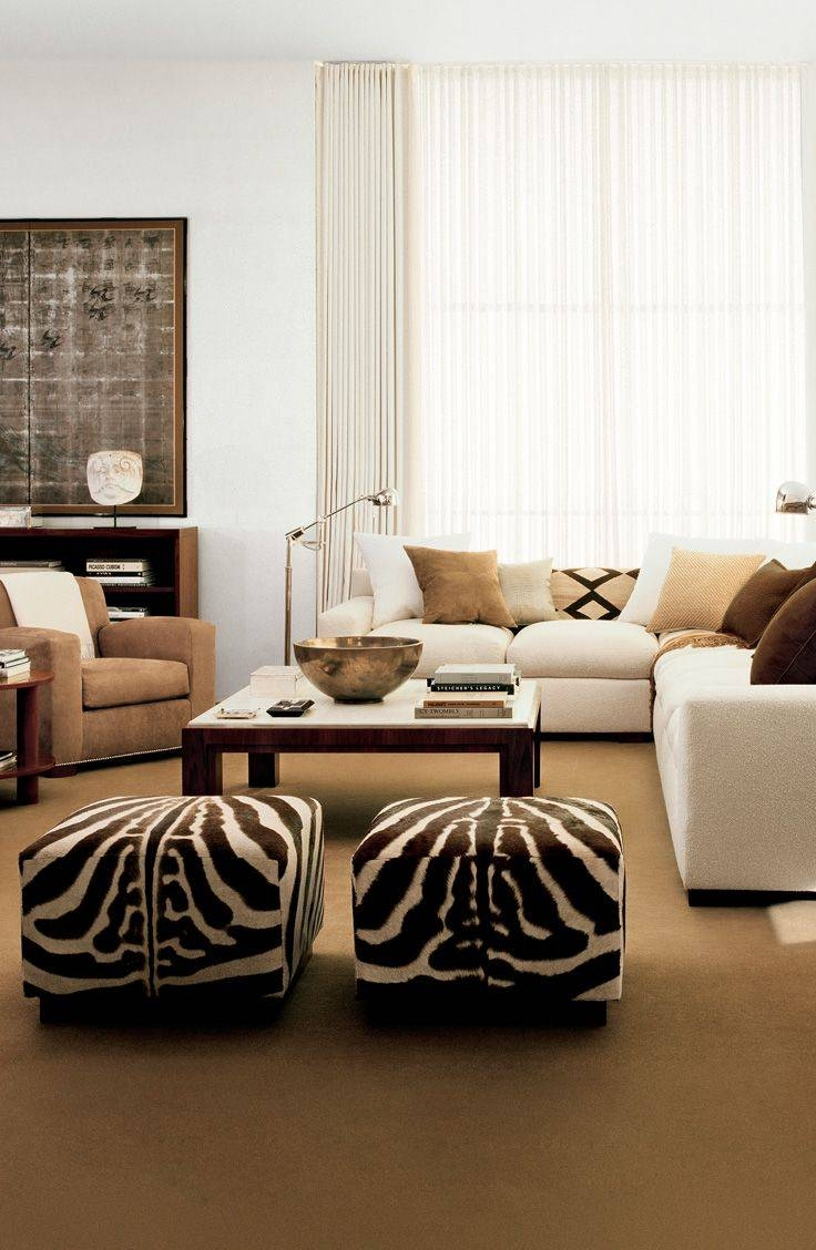 Best 25+ Cowhide Ottoman Ideas On Pinterest | Southwestern Pertaining To Animal Print Ottoman Coffee Tables (View 10 of 30)