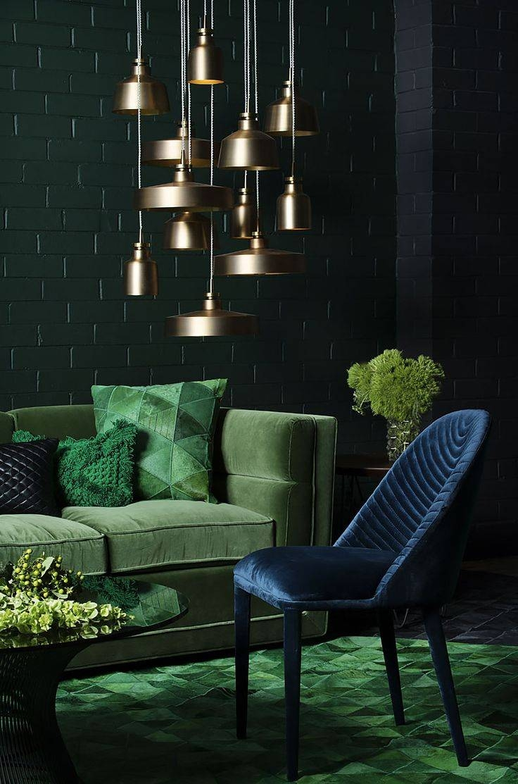 Best 25+ Dark Green Couches Ideas On Pinterest | Dark Teal, Teal intended for Green Sofa Chairs (Image 6 of 30)