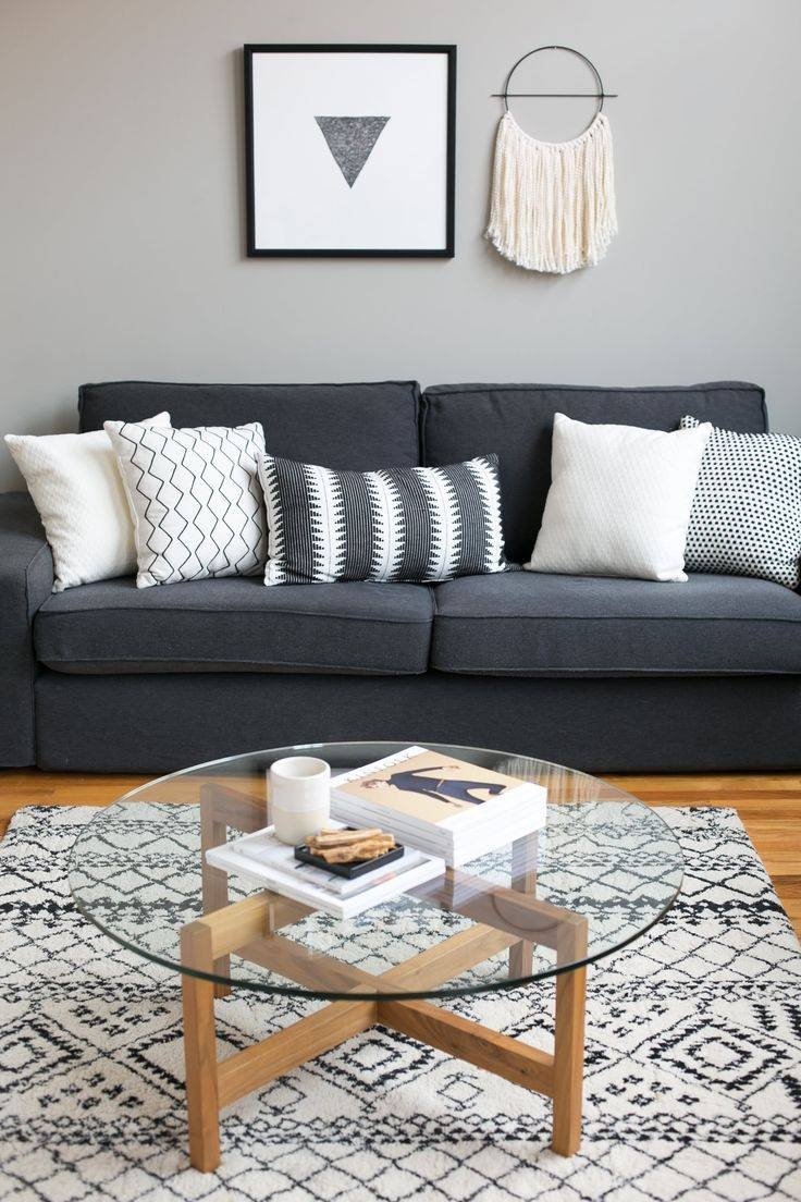 Best 25+ Dark Grey Couches Ideas On Pinterest | Grey Couch Rooms with regard to Grey Sofa Chairs (Image 3 of 30)