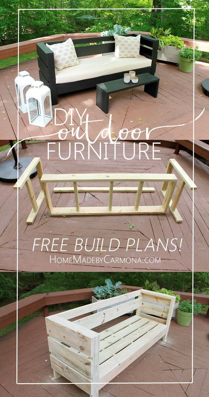 Best 25+ Deck Furniture Ideas On Pinterest | Outdoor Furniture inside Patio Sofa Tables (Image 6 of 30)