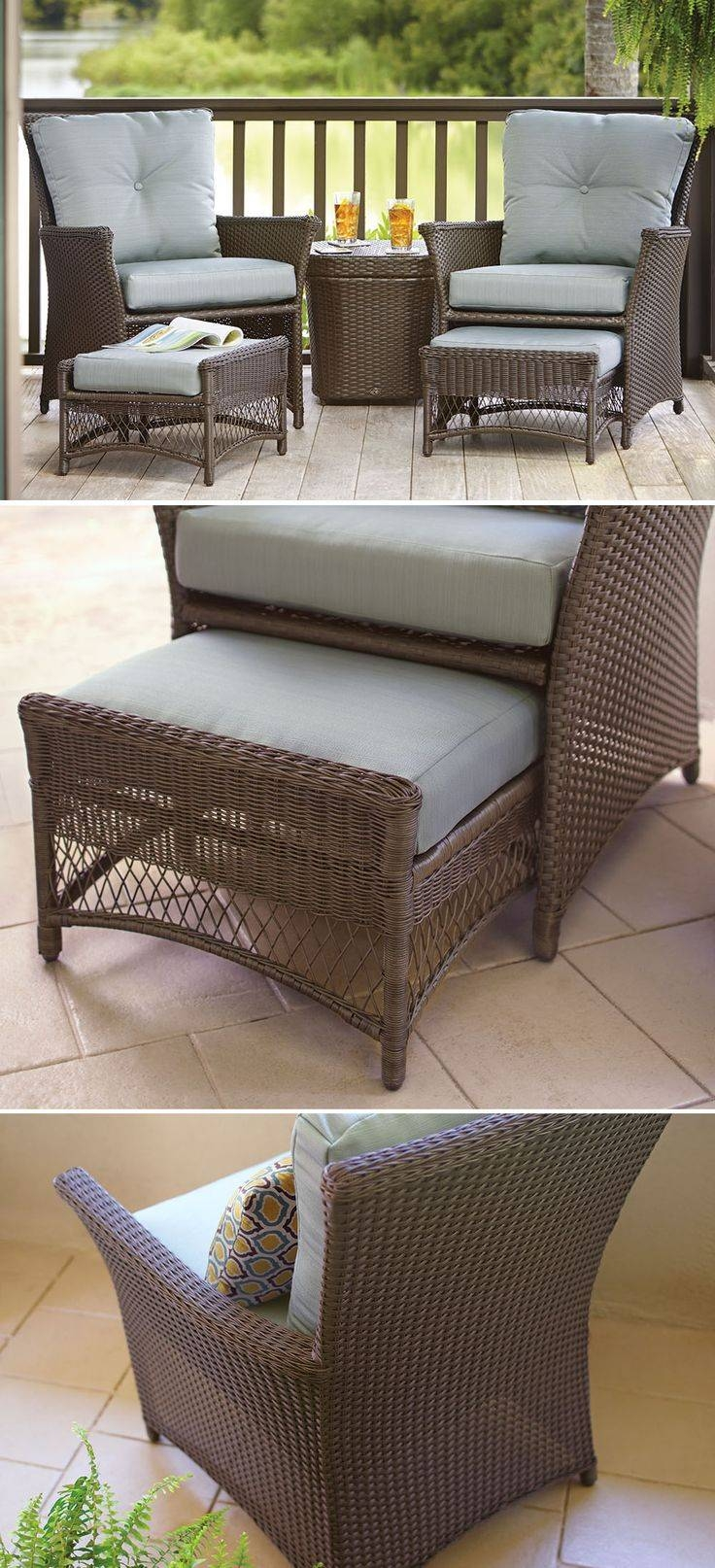 Best 25+ Deck Furniture Ideas On Pinterest | Outdoor Furniture throughout Patio Sofa Tables (Image 7 of 30)